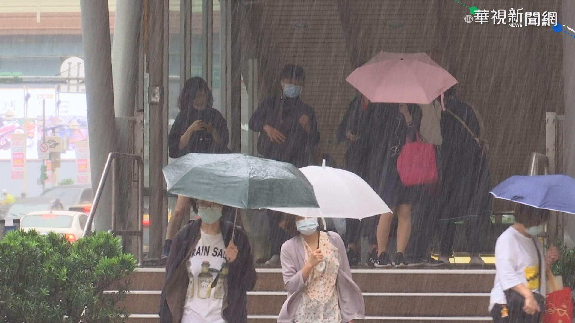 盧碧減弱為熱帶低壓 週末西半部嚴防豪雨