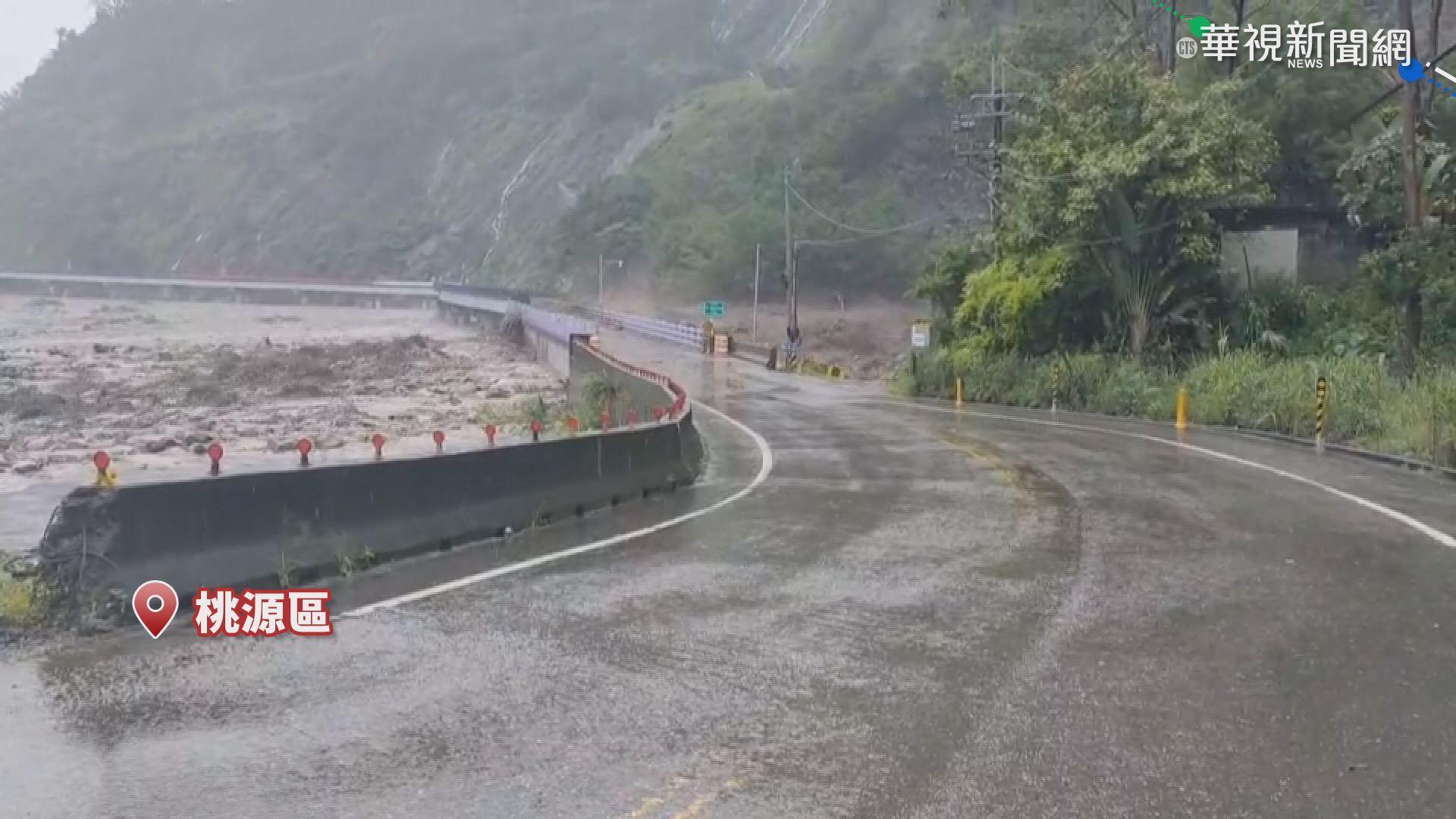 熱帶性低氣壓+西南氣流 暴雨灌南台釀災
