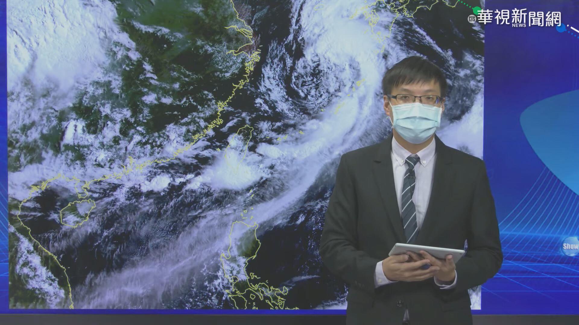 輕颱盧碧復活前進日本 中南部防暴雨