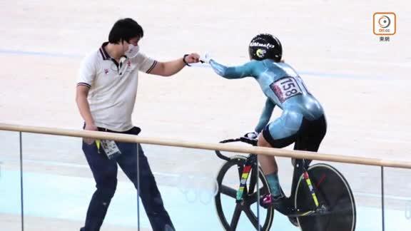 李慧詩場地單車爭先賽大勝德國軒治 奪得銅牌