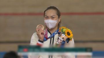 李慧詩場地單車女子爭先賽奪銅 賽後承認壓力很大