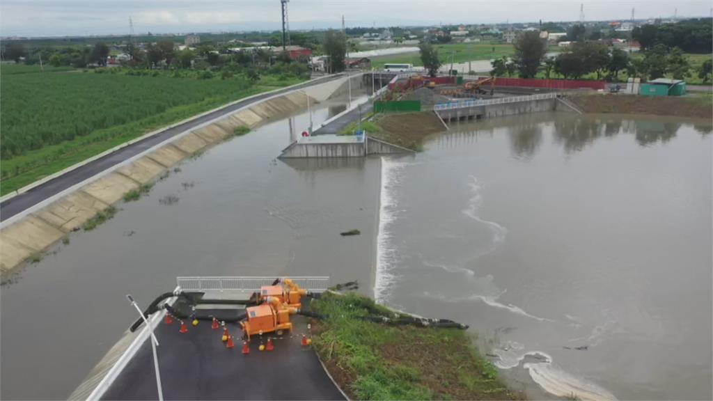 提前部署! 水利署前瞻治水 南台淹水面積大幅縮小