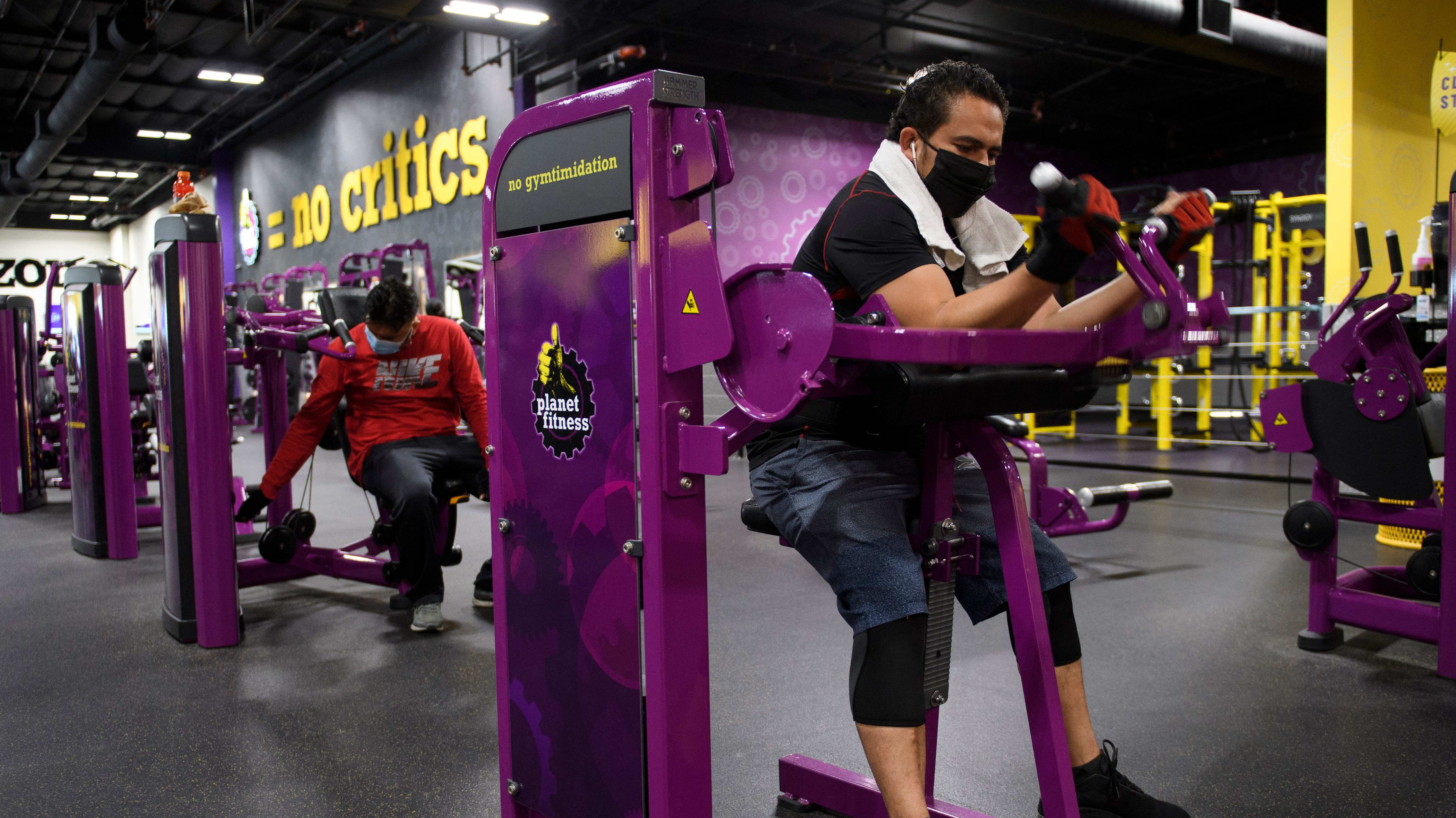 Planet Fitness Ceo On Gym Vaccine Mandate We Re Hoping It S Short Lived