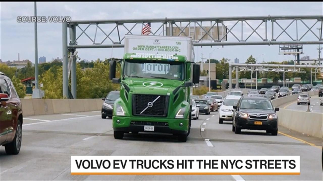 Volvo Electric Trucks Hit New York City Streets