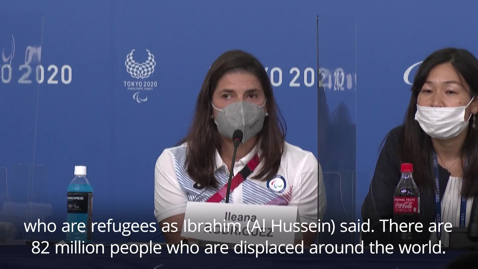 Refugee Paralympic Team aim to instill message of hope for Afghans