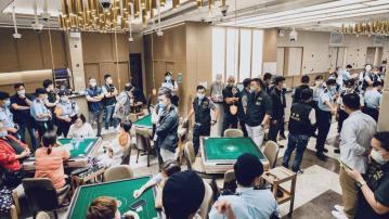 警方大規模行動打擊三合會罪行拘137人