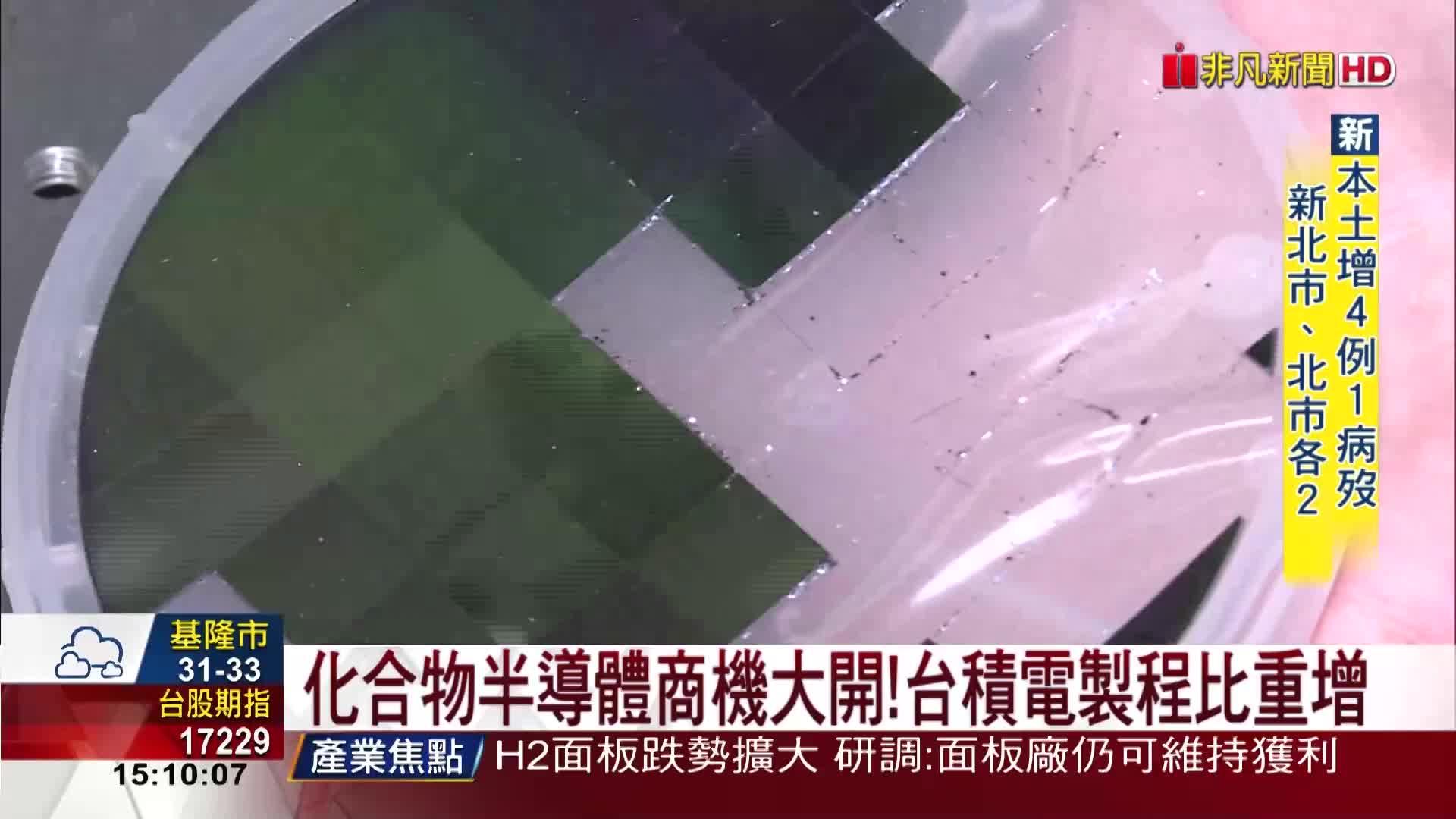 買旺宏廠.推動MIH 鴻海放眼第三代半導體