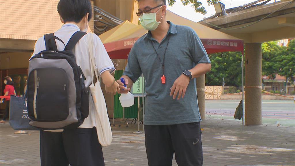 松山區某國中生確診為Alpha 二採陰「學校提前復課」