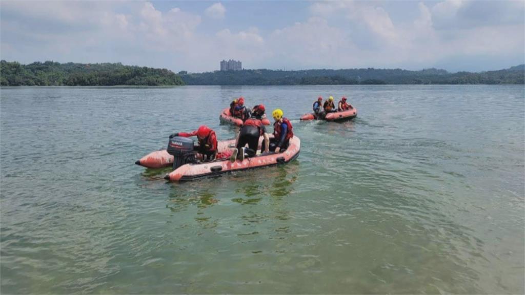 憾! 嘉義仁義潭水庫訓練意外 消防溺水不治