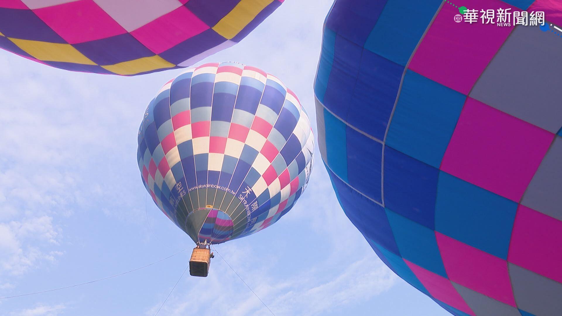 拚觀光財! 高雄熱氣球月世界.愛河試飛