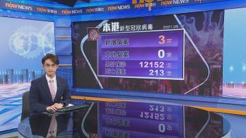 本港新增三宗新冠病毒輸入個案 均帶變種病毒