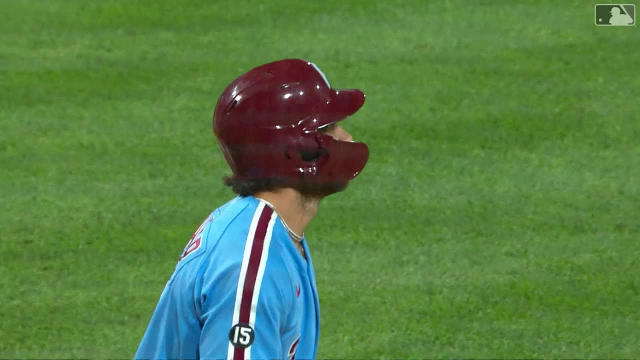 Harper掃4支3猛打賞外帶4打點 費城人9分差大勝小熊【MLB球星精華】20210917