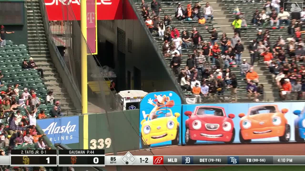 Tatis Jr.敲出本季第39轟 教士3分差擊退巨人【MLB球星精華】20210917