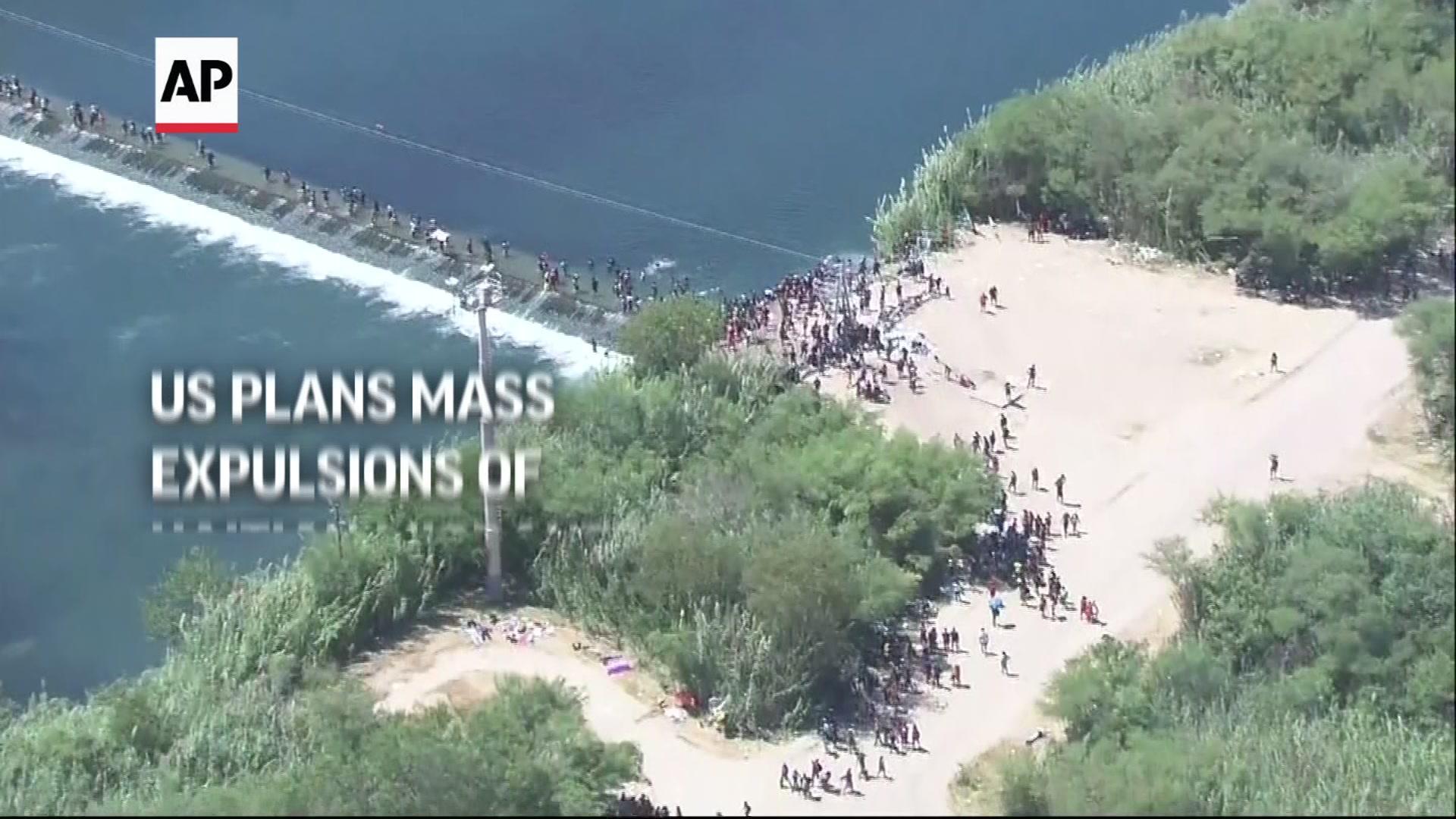 US plans mass expulsions of Haitian migrants