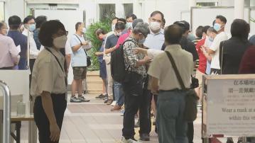 選民指投票排隊近小時 長者選民歡迎關愛隊安排