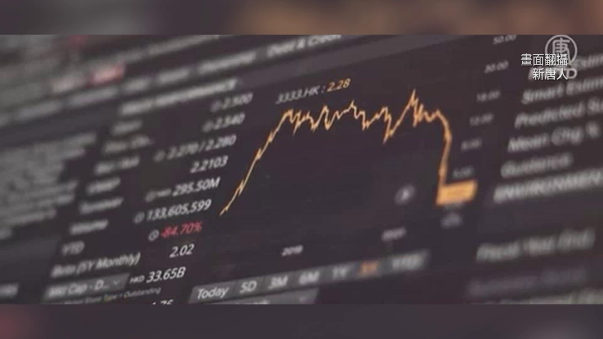 恆大風暴! 金融市場大逃殺 美股重挫「614點」