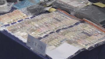 警方消防分別搗破無牌酒吧、賭檔及非法油站拘145人