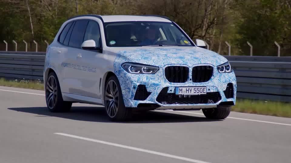German auto giants bet on hydrogen cars
