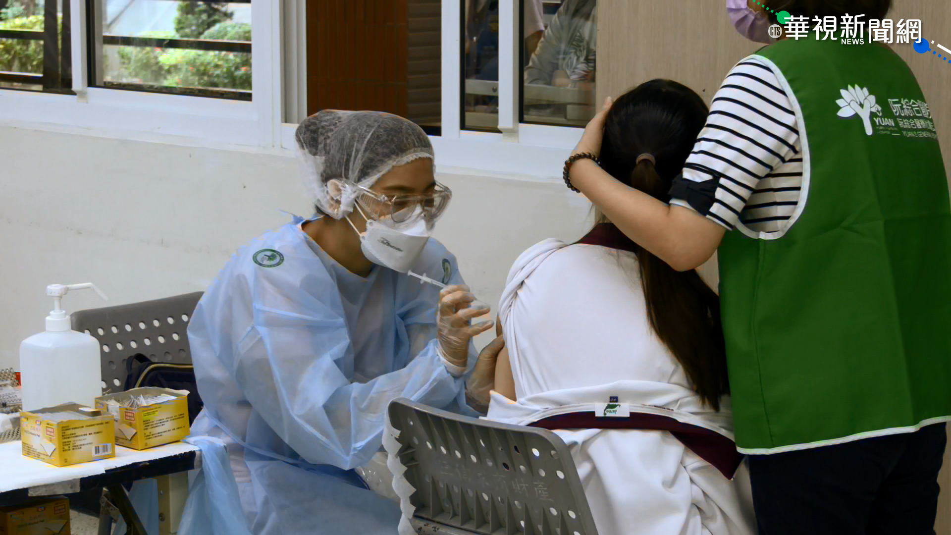 台南昨天打完BNT 今2校510學生請假