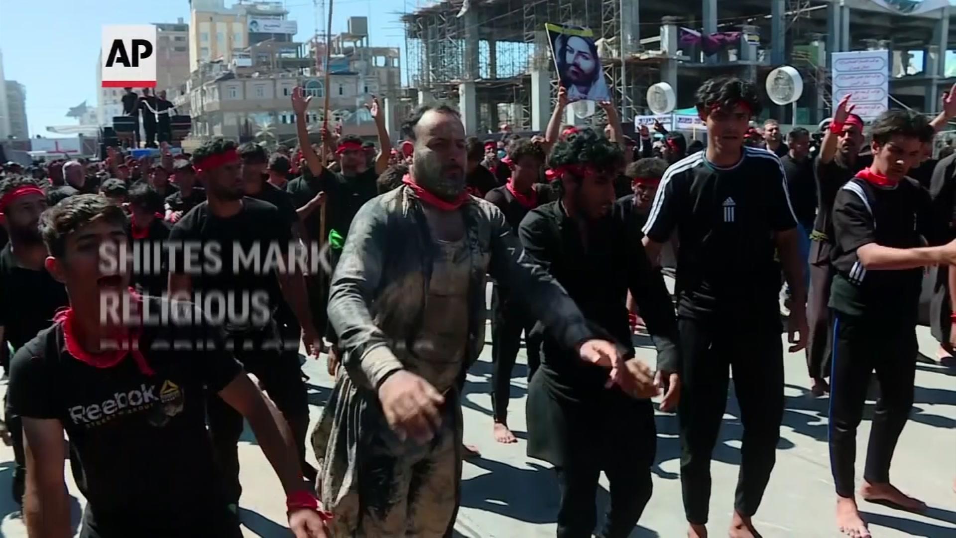 Shia Muslims in Iraq mark Arbaeen rituals