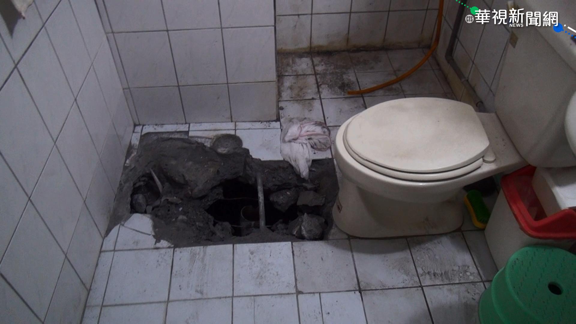 傻眼!馬桶水常倒灌 根本沒接汙水系統