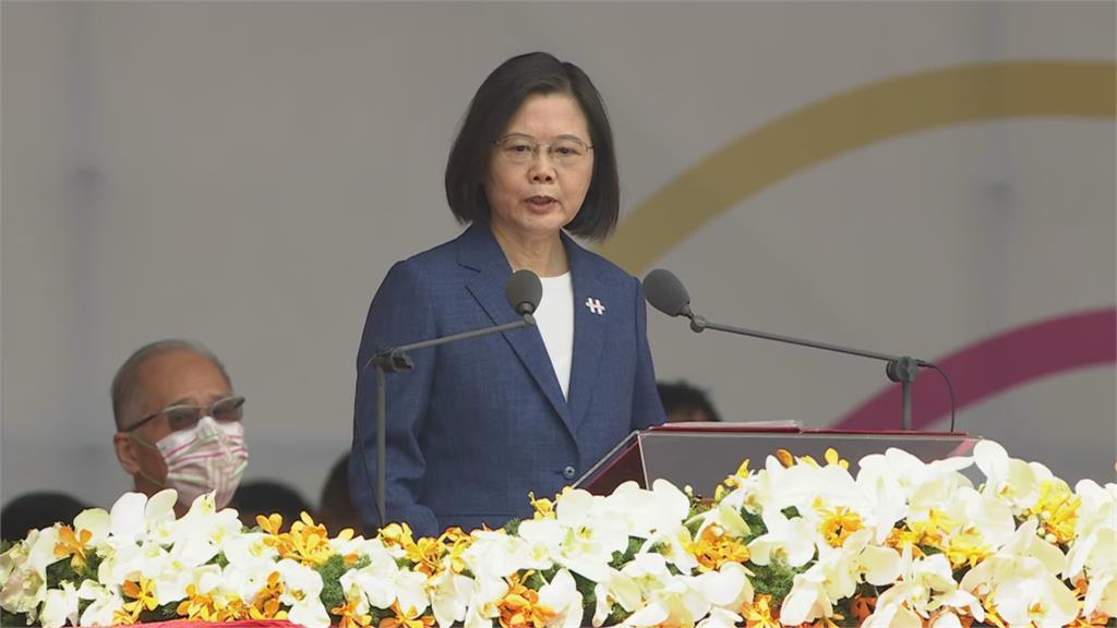 中國批「四堅」是兩國論 蔡總統:合乎台灣主流民意