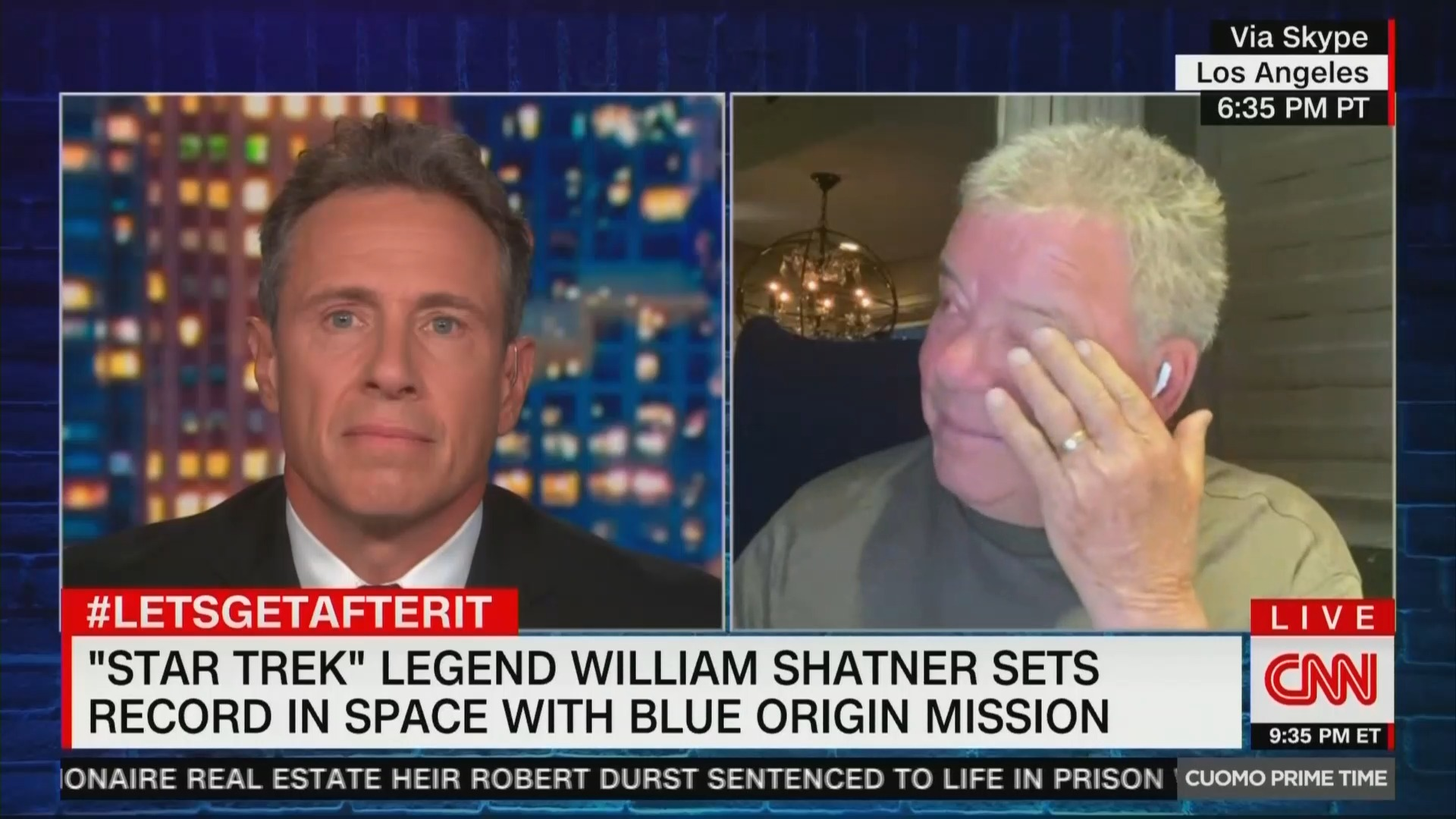 William Shatner issues dire warning following space flight: 'Destruction of the planet is suicide'