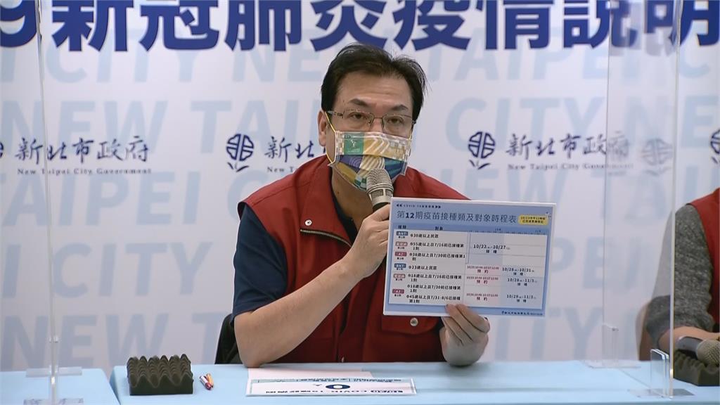 快新聞/新北第12輪疫苗規劃曝 市府:民眾一定要確認時間地點