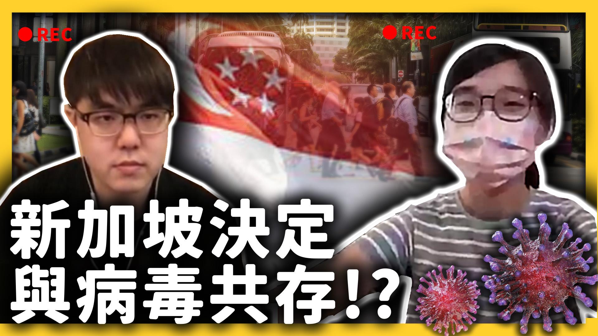 與病毒共存之後,確診數節節上升,新加坡人民會緊張嗎?《七七聊天室》EP009|志祺七七