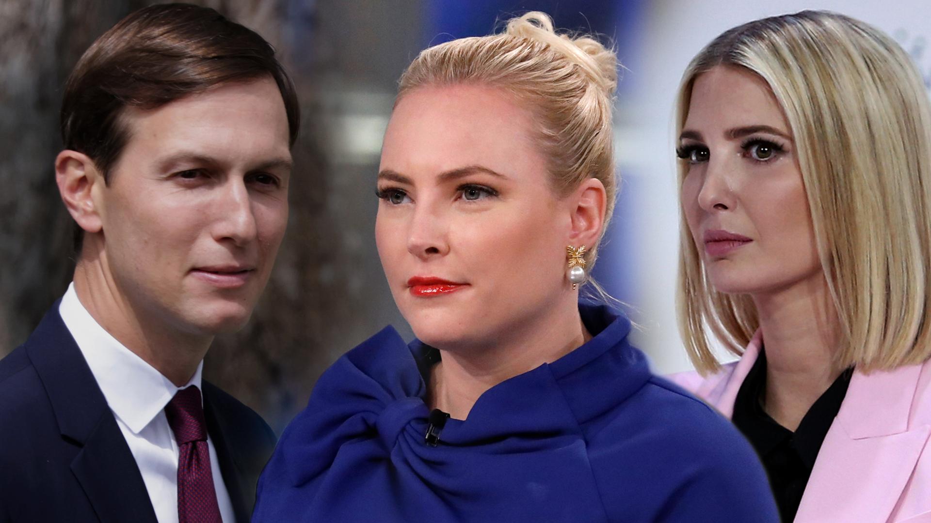 Meghan McCain still angry at Ivanka Trump and Jared Kushner
