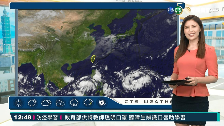 北東整天濕涼中南部早晚涼 沿海離島風浪大