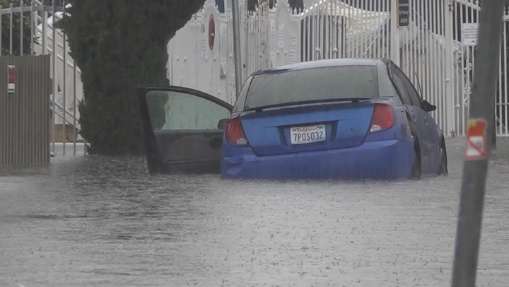 Streets submerged by relentless storm