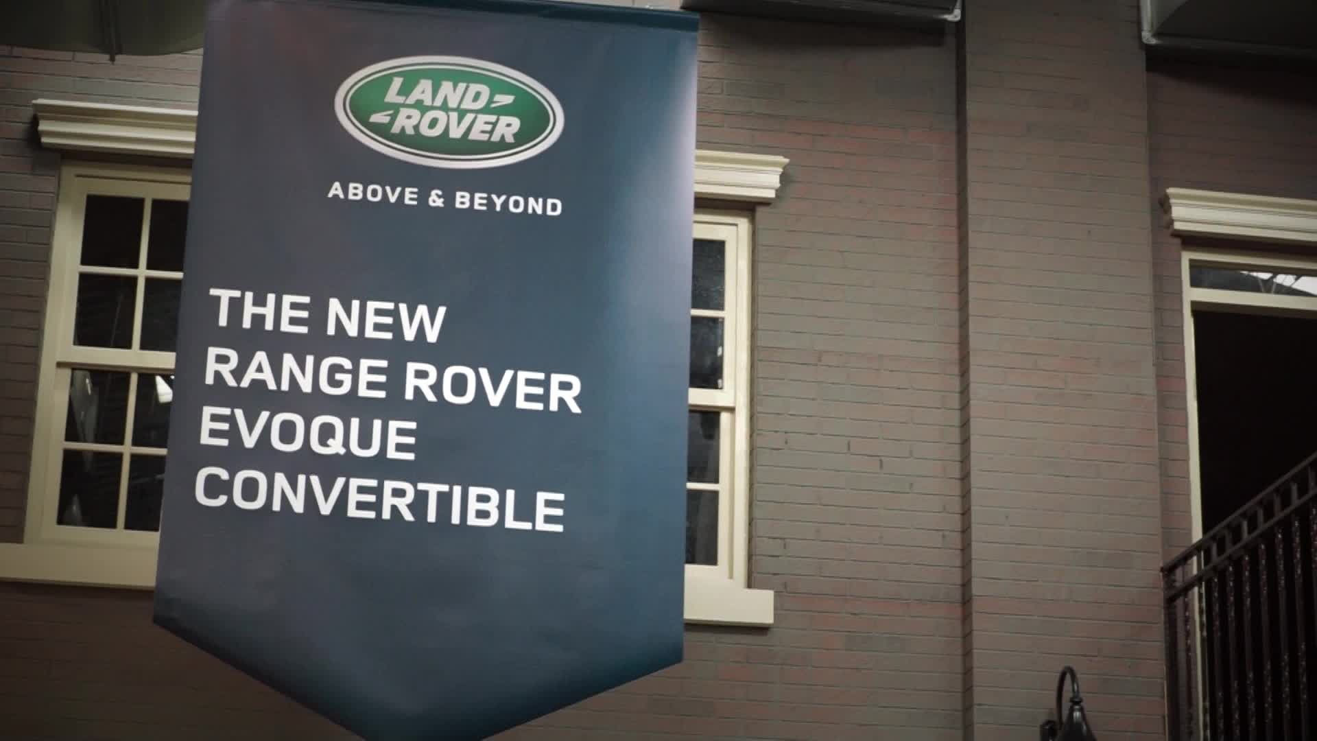 New Range Rover Evoque Convertible | 上市記者會