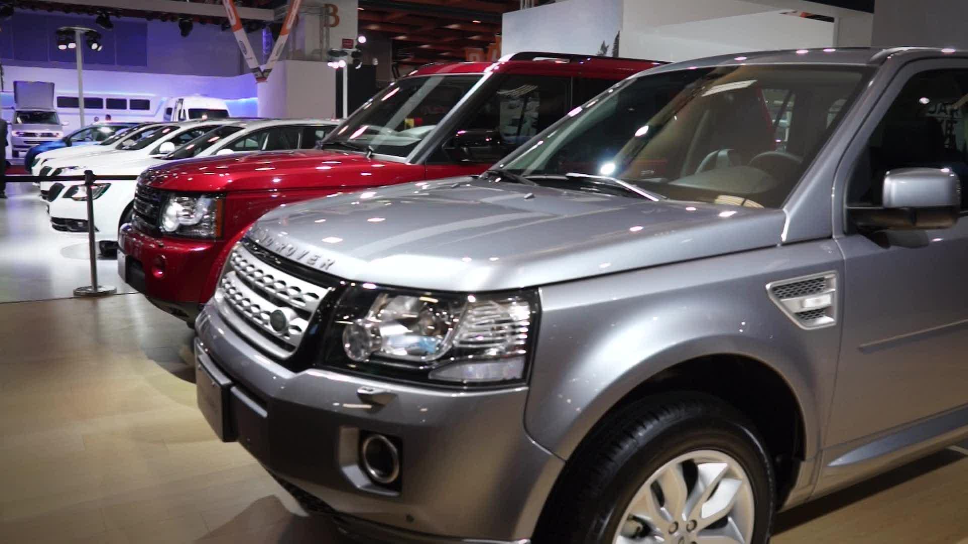 2014台北車展 Land Rover 全球頂級休旅之王