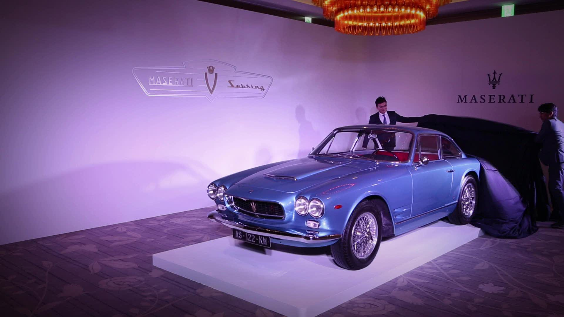 Maserati Sebring 3500 GT | 經典登台
