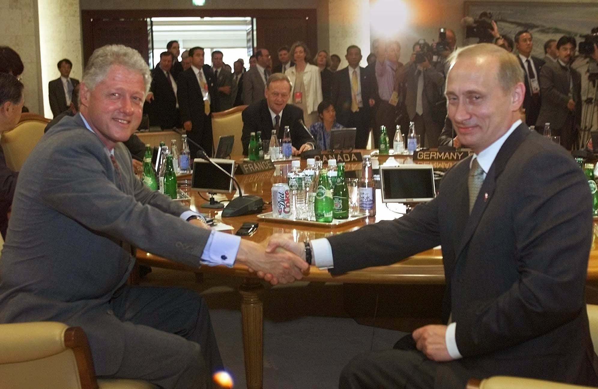 Bill Clinton Once Told Tony Blair That Vladimir Putin Had Enormous Potential