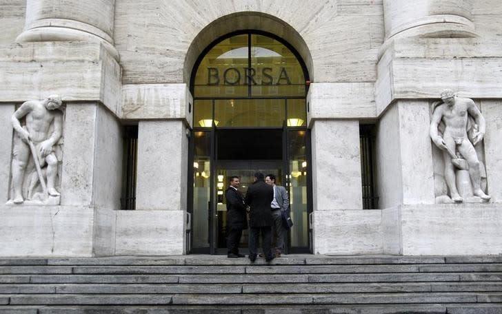 Borsa Milano euforica su scia Dax tedesco, forti oil e banche, strappa Pininfarina