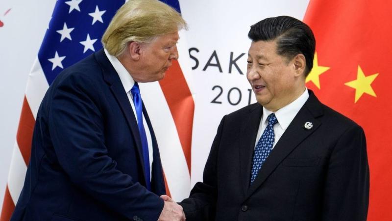 Donad Trump y Xi Jinping