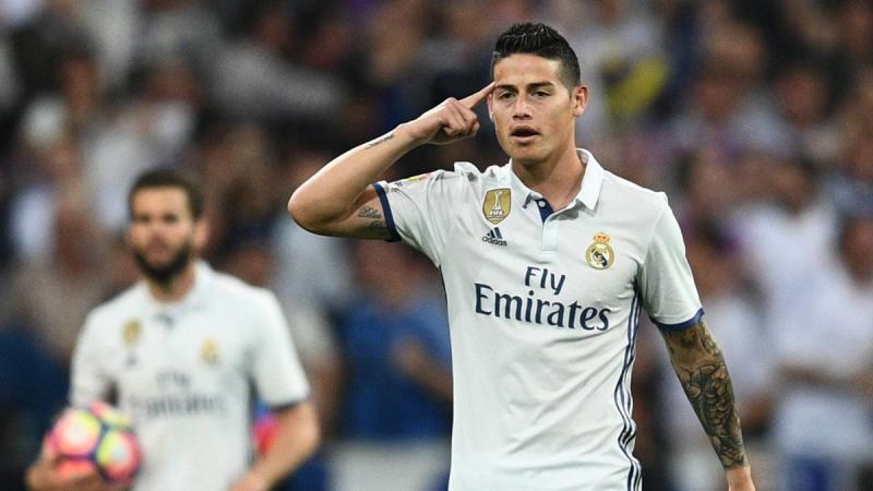 James Real Madrid La Liga 2442017