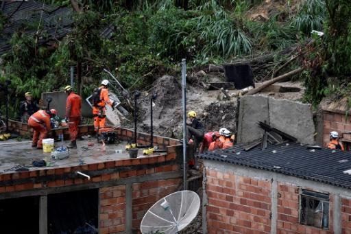 Temporal en Brasil deja saldo de 30 muertos y desaparecidos