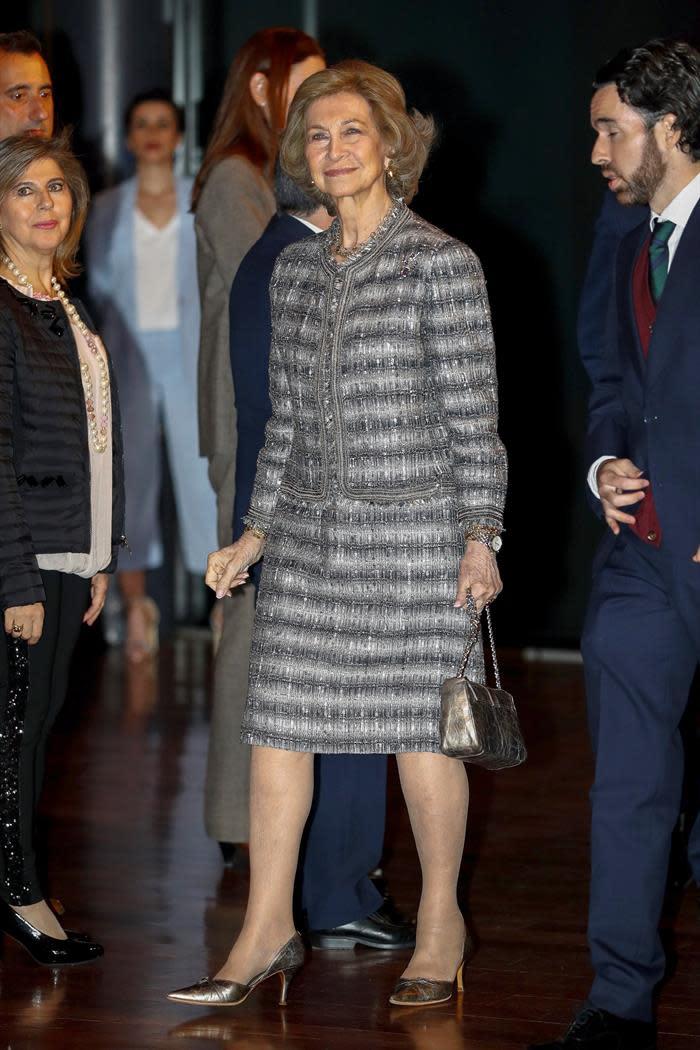 La Reina Sofía acudirá a Nueva York para la entrega de premios a Domingo y Barraquer