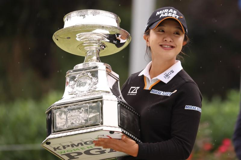 Kim keeps Inbee at bay to claim maiden major title