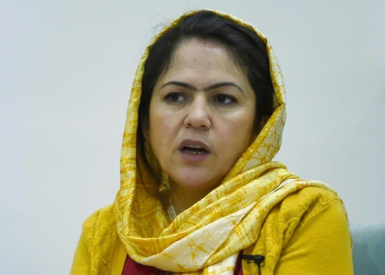 Fawzia Koofi is a trailblazing Afghan women's rights campaigner and politician