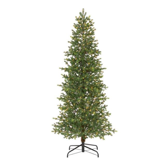 home depot, christmas tree