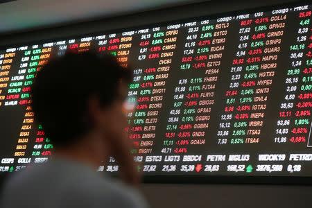 Bolsa brasileña sube por expectativas sobre reforma a pensiones, menor aversión al riesgo