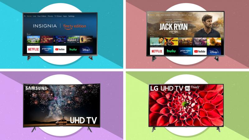 Chọn một TV, bất kỳ TV nào ... và tiết kiệm lớn.  (Ảnh: Amazon)
