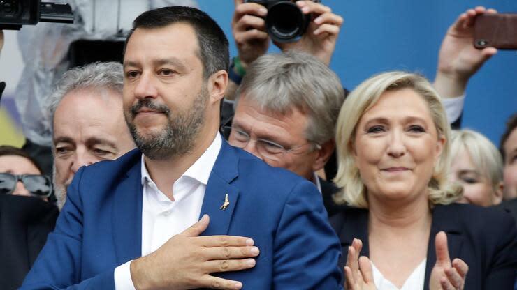 Lega-Chef Salvini will mit einer rechten Allianz die Regeln in Europa neu bestimmen
