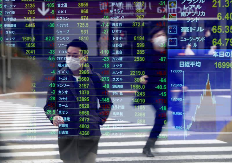 Borsa Tokyo, in calo su crollo petrolio e timori pandemia in attesa risultati societari