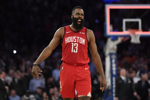 Houston 114 - 110 New York: Final | 2019-01-23 | National Basketball