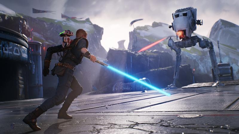 """'Star Wars: Jedi Fallen Order' will let you play as a jedi following the events of """"Episode III"""" and the slaughter of the Jedi Order. (Image: EA)"""